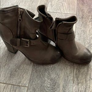 Ankle moto boots by Steve Madden